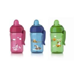Vaso con boquilla 340 ml Boquilla de flujo rápido para 18m+ Philips Avent