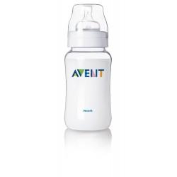 Tetero 11 onza clasico de polipropileno , 1 unidad libre de BPA AVENT