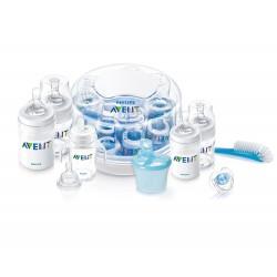 Set de regalo esencial completo con esterilizador AVENT libre de BPA